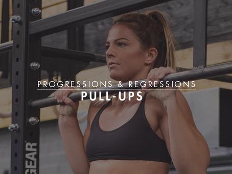 Progressions & Regressions || Pull Ups