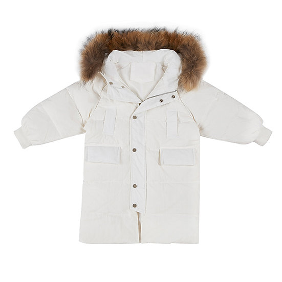 Windbreak with hoodie, warm from head to toe! for boy and girl