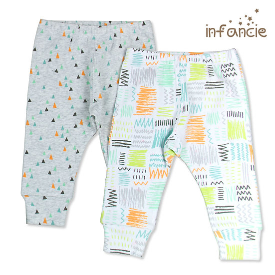 Jumpsuit pack of 2 with prints