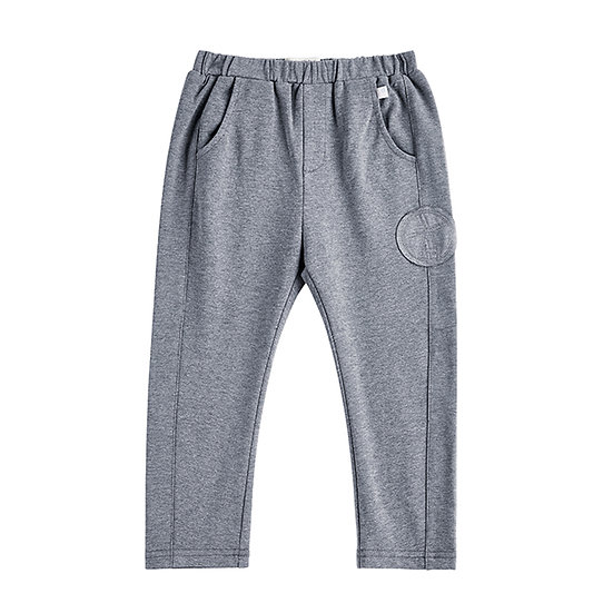 Jersey sweat trousers, gray