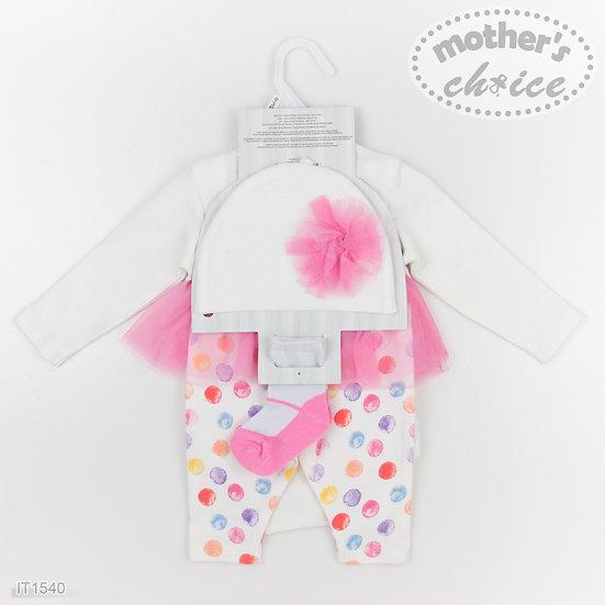 Baby girl Pink Giraffe set
