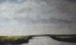 """""""Lowcountry Tides"""" 56x34""""(sold)"""