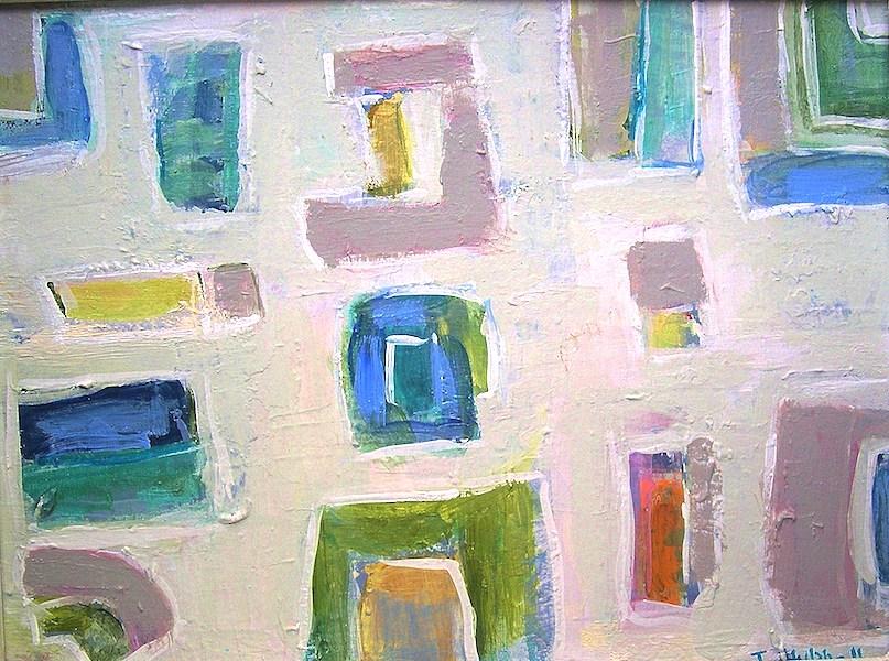 """""""Nouveau Anneé"""" 16x12"""" (sold)."""