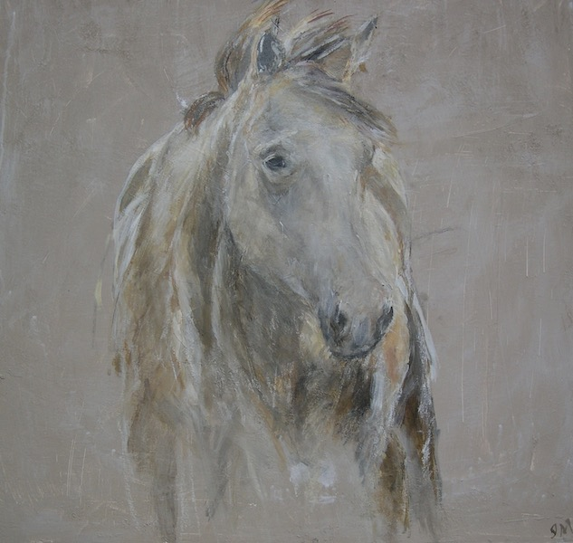 """Western Horse"" 36x40"" (sold)."