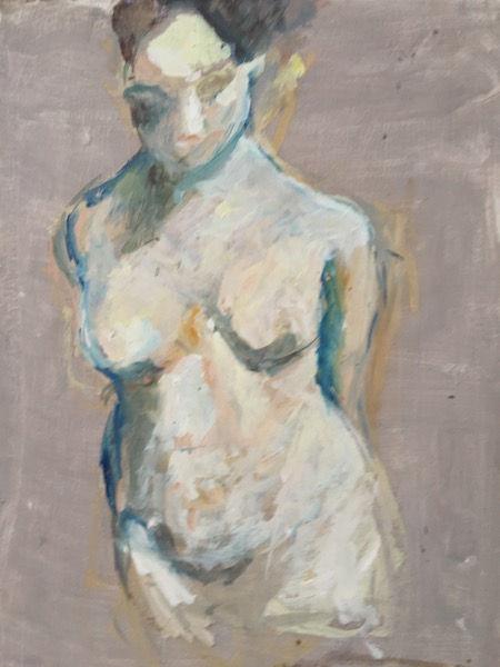 Figure in Gray