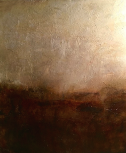 """""""Winter on the Downs"""" 36x40""""(sold)."""
