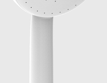 This is the shower head we use at home to help protect our family against bacteria
