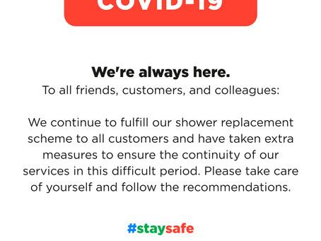 Dupal UK Covid - 19 Update