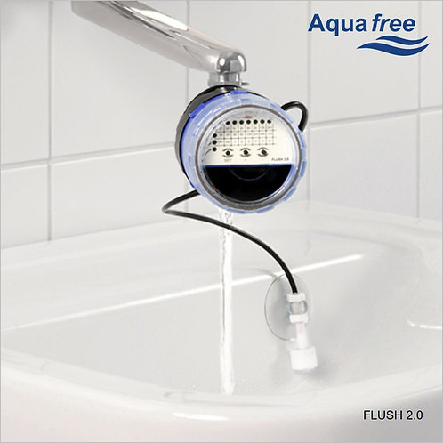 FLUSH 2.0 Automatic flush device for taps avoid stagnant water and Legionella