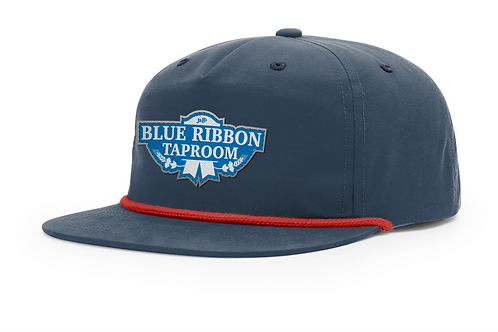 Navy Taproom Cotton Hat
