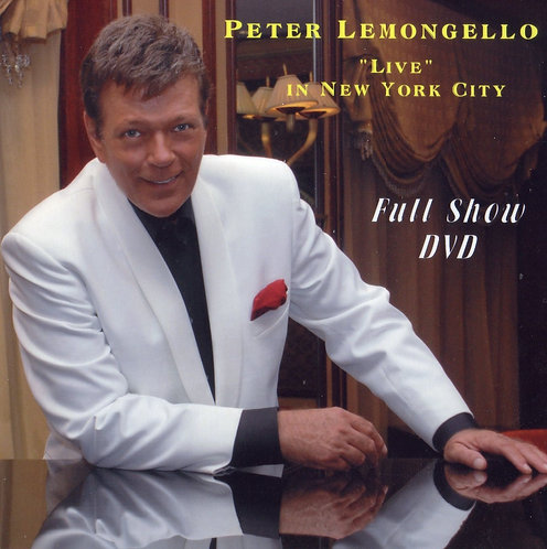 DVD Peter Lemongello Live In New York City