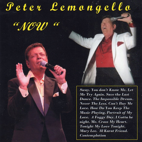 "Peter Lemongello ""Now"""