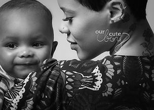 baltimore metro area photographer, mother and first son baby boy looking over shoulder cbdphotography