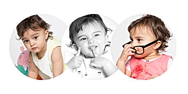 baltimore metro area photographer, columbian brazillian baby girl collage 1 1/2 years old cbdphotography