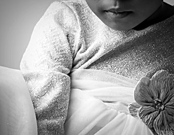 baltimore metro area photographer, baby girl in beautiful dress with flower cbdphotography