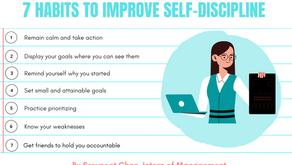 7 Habits to Improve Self-Discipline