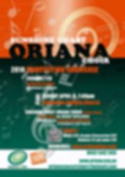 Oriana Concert: 2014 Showcase