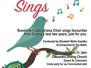 Oriana Sings