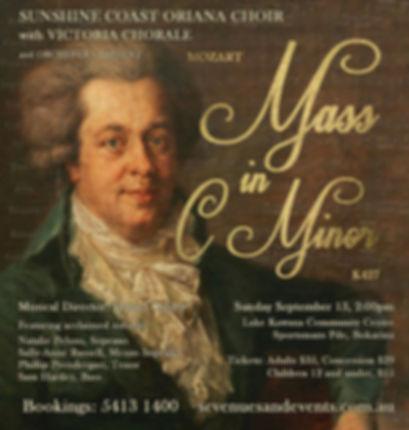 Oriana Concert: Mozart Mass in C minor