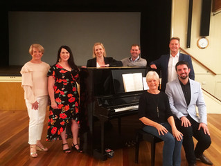 Oriana's Patron meets Choir, Soloists and Conductor at Open Rehearsals