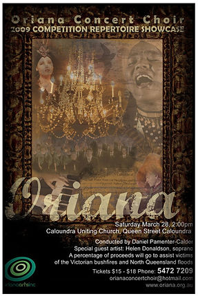 Oriana Concert: 2011 Showcase
