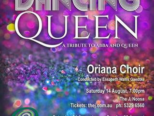 DANCING QUEEN – A RARE MUSICAL TREAT