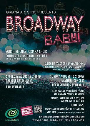 Oriana Concert: Broadway Baby