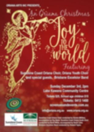 An Oriana Christmas-Joy to the World - 2