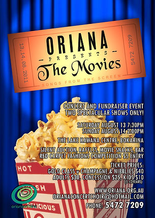 Oriana Concert: Oriana Presents the Movies