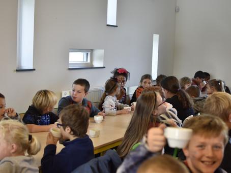 Halloween à l'école de Matagne