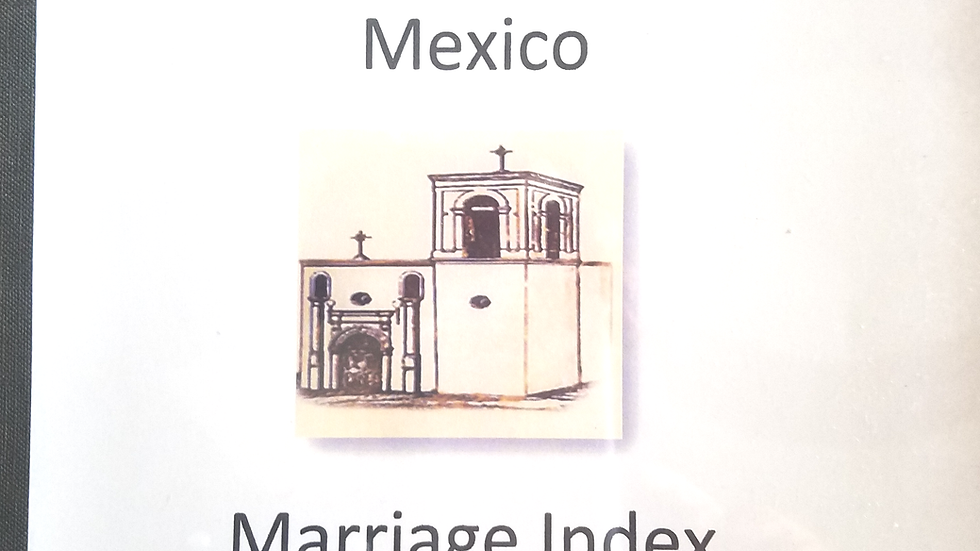 Nuestra Señora de Guadalupe, Reynosa, Tamaulipas Mexico Marriage Index 1811-1823