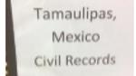 Cruillas Civil Birth Registrations  Index 1870-1902