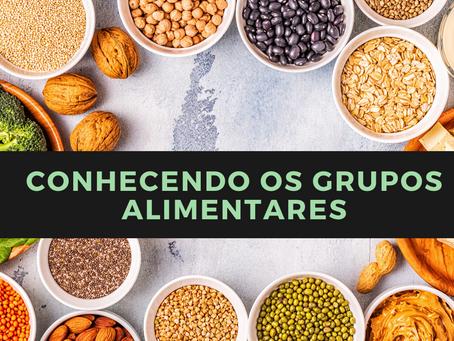 Conhecendo os grupos alimentares
