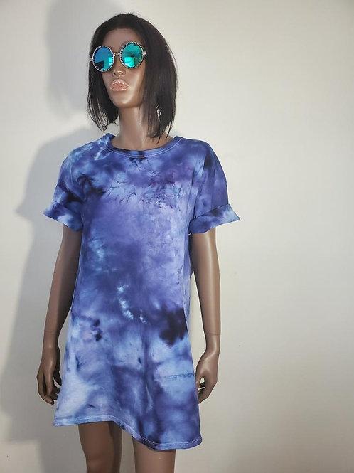 Indigo High T-shirt Dress