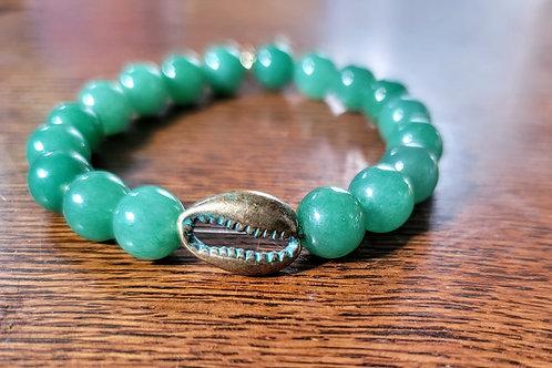 Cowrie Aventurine Bracelets