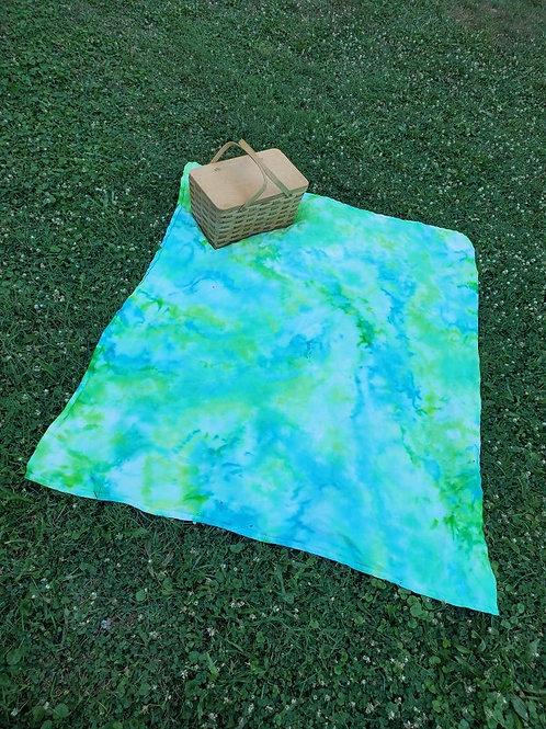 Neon Wave Blanket