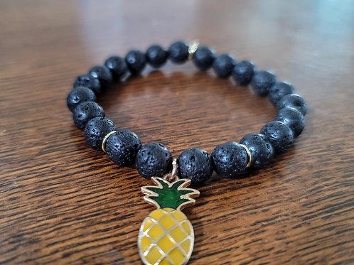 Pineapple Lava Bracelet