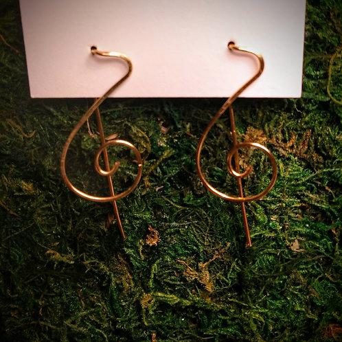 Treble Earrings