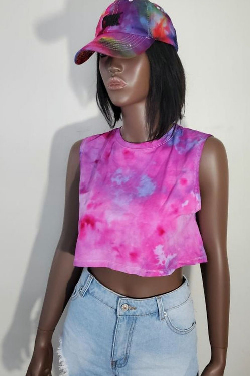 Tougher in Pink Crop Tee (Small)