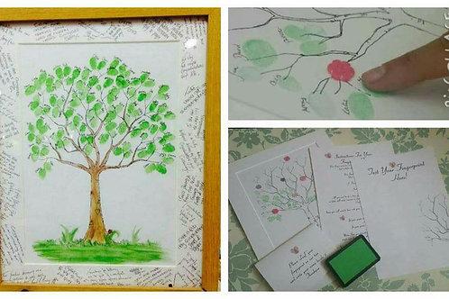 Tree Finger Print Kit