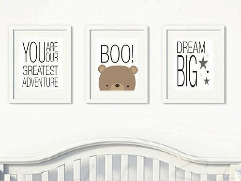 Peek a Boo Nursery Set