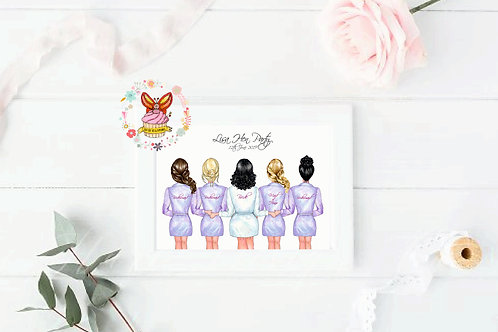 Here Come The Girls Print