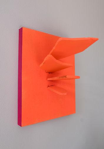 object, sculpture, sivan dayan, broken glass, installation