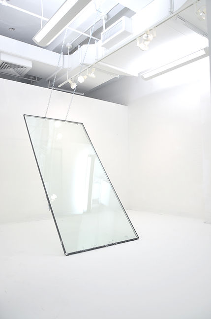 sivan dayan, i want to be transparent, 2016, installation, sva,