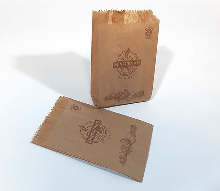 Pacote Anti-gordura Mineirinho - Pardo (fardo c/500 unid.)