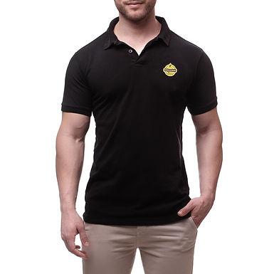 Camisa Gola Polo Mineirinho Preta - Fit - Coleção 2019