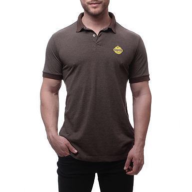 Camisa Gola Polo Mineirinho Marrom - Fit - Coleção 2019