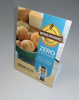 Display de balcão Zero Lactose - Assado