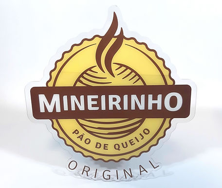 Placa de Acrílico Mineirinho
