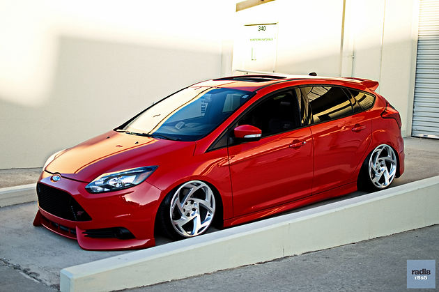Focus St Wheels >> Lady In Red With Brendan S 2013 Ford Focus St